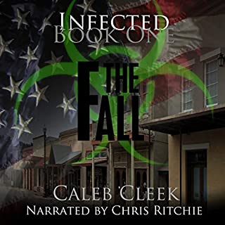 Infected: The Fall audiobook cover art