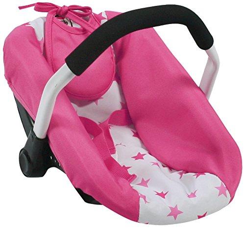 Bayer Chic 2000 708 89 Puppen-Autositz für Babypuppen, pink