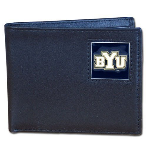 Siskiyou BYU Cougars Leather Bi-Fold Wallet by