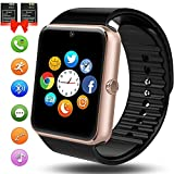 ANCwear Bluetooth Smart Watch, Smartwatch with SIM Card Slot Camera Music Play Sports