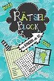Rätselblock für Kinder ab 10: Wortsuchrätsel, Sudokus, Labyrinthe, Buchstabenrätsel, Wortsalat - cooler Rätselspaß für Kinder ab 10 Jahre