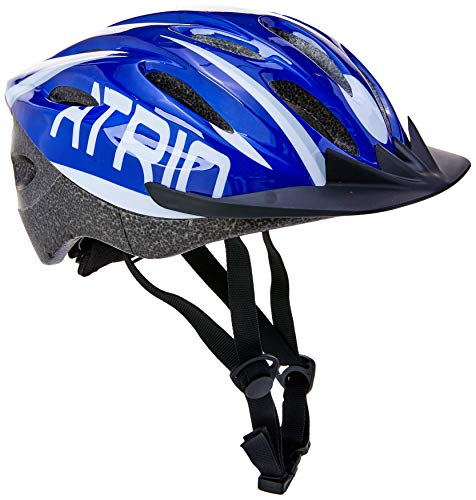 Capacete para Ciclismo MTB 2.0 Tam. M Viseira Removível e 19 Entradas de Ventilação Vermelho/Branco - BI162 Atrio Adultos