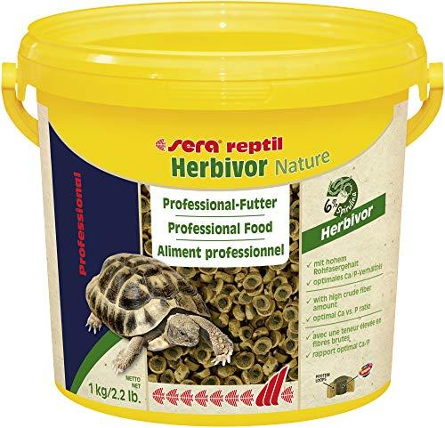 Sera Reptil Professional Herbivor, alimento profesional para