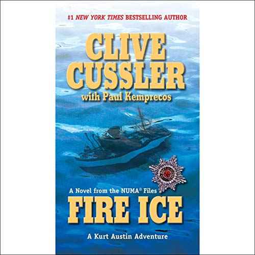 Fire Ice Audiobook By Clive Cussler cover art