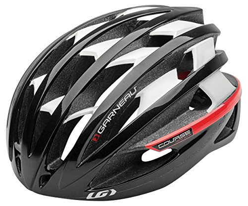 Louis Garneau Course Helmet (Black, Large)