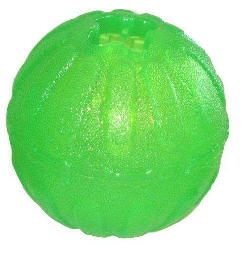 Starmark Treat Dispensing Chew Ball Tough Dog Toy, Medium/Large