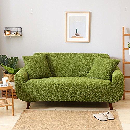 Z & HX Canapé/Ensembles de Housse de canapé/canapé/jeté de canapé/canapé Serviette/sable Release/canapé Pad/canapé épais/canapé Housses/canapé Coussins/résistante à l'usure, Anti-dirty, imperméable à l'eau/Importer, Green, C