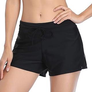 Mujeres Shorts de Deporte Sólido Pantalones Cortos de Deportivos para el Gimnasio Playa Al Aire Libre Verano