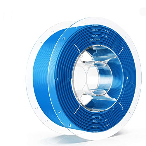 SainSmart PRO-3 Tangle-Free Premium 1,75 mm Silk-PLA 3D Filamento per stampante 3D, Blue Silk-PLA, 2,2 LBS (1 KG) Spool, dimensione Accuracy +/-0,02 mm