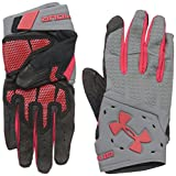 Under Armour Men's ClutchFit Renegade Training Gloves, Graphite (040)/Red, Small