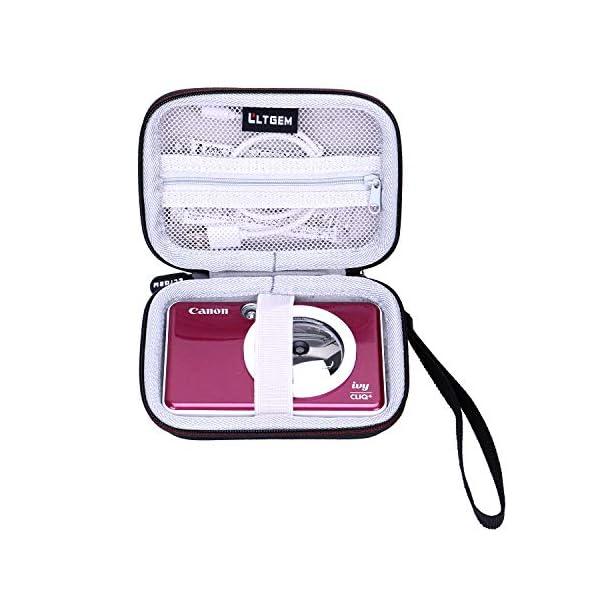 LTGEM EVA Hard Case for Canon Ivy CLIQ or CLIQ+ Instant Camera Printer – Travel Protective Carrying Storage Bag