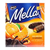 Jutrzenka MELLA Cocolate Coated Orange Jelly, 6.7oz