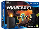 Pack PS4 Slim 500 Go noire + Minecraft ( Digital)