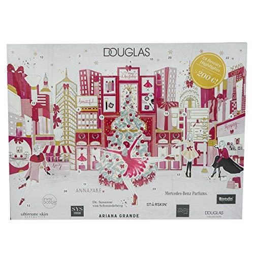 Douglas Adventskalender New York 2019  im warenwert von über 200 Euro 24 Beauty Highlights