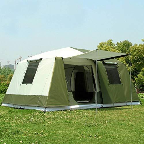 RDGDSGED Carpa Grande Acampar Aire Libre 10-12 Personas