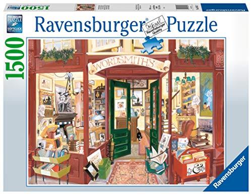 Ravensburger Wordsmith\'s Bookshop Puzzle für Erwachsene und Kinder, ab 12 Jahren, 1500 Teile