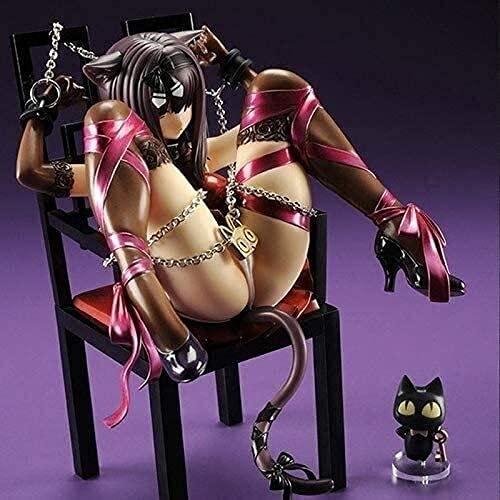 Anime Action Figure Model, Cat Girl Anime Action Figure Collectible Model Character PVC Figures Statue Toys Desktop Ornaments