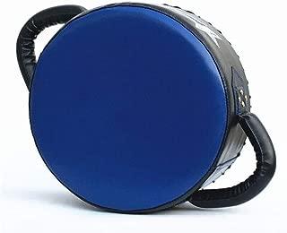 パンチングミット 空手テコンドーボクシング、トレーニング、手のひらの手首を保護するためのパンチキック調整可能なソフト・シールド耐久性のあるトレーニングパッド (色 : 青, サイズ : ワンサイズ)