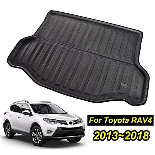 XIANGSHAN for Toyota RAV4 2013 2014 2015 2016 2017 2018 Boot Mat Rear Trunk Liner Cargo Floor Tray Carpet Mud Kick Protector Accessories