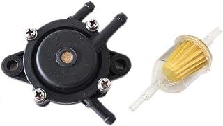 Amhousejoy Fuel Pump 24 393 16-S / 24 393 04-S with Filter Fit for Kohler CH17-CH25 CV17-CV25 CH730-CH740 CV730-CV740 17H...