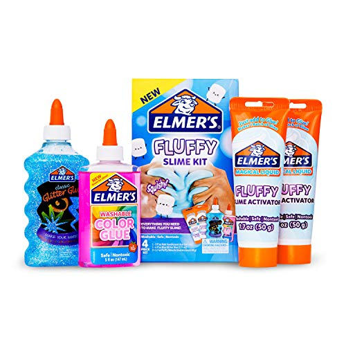 Elmer's Fluffy Slime Kit | Slime Supplies Include Elmer's...