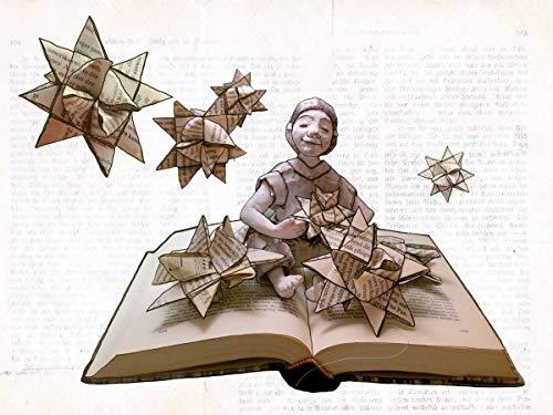 Weihnachtskarte, Klappkarte für Bücher liebende Leseratten - 2