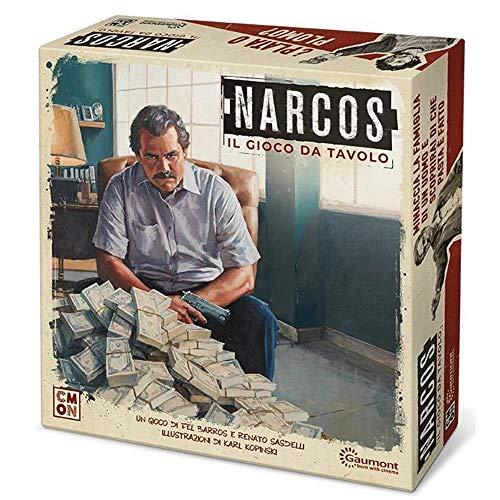 Asmodee- Narcos Il Gioco da Tavolo con splendide Miniature, Colore, 8421