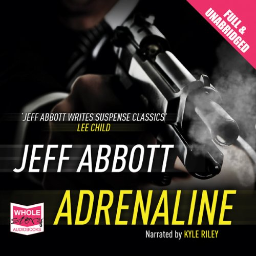 Adrenaline audiobook cover art