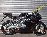 Para Aprilia RS125 Accesorios Moto Negro 2006-2011 RS 125 06 07 08 09 10 11 Carrocería De Carenado Negro Motocicleta (Moldeo Por Inyección)