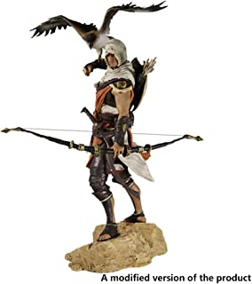 Huangyingui Assassin's Creed Bayek Figure with Eagle - High 9.8 Inches