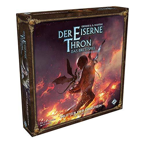 Asmodee Der Eiserne Thron: Das Brettspiel 2. Edition - Mutter der Drachen, Erweiterung, Expertenspiel, Deutsch