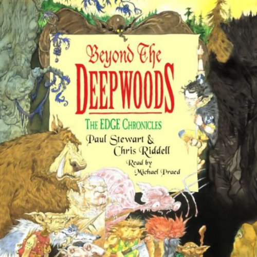 Beyond the Deepwoods audiobook cover art