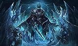 shjklb World of Warcraft Movie Jigsaw Puzzles para Adultos 1000 Piezas Impossible Puzzle-Marvel descompresión Juguetes educativos para Adultos Regalos Juego (38x26cm) -Card