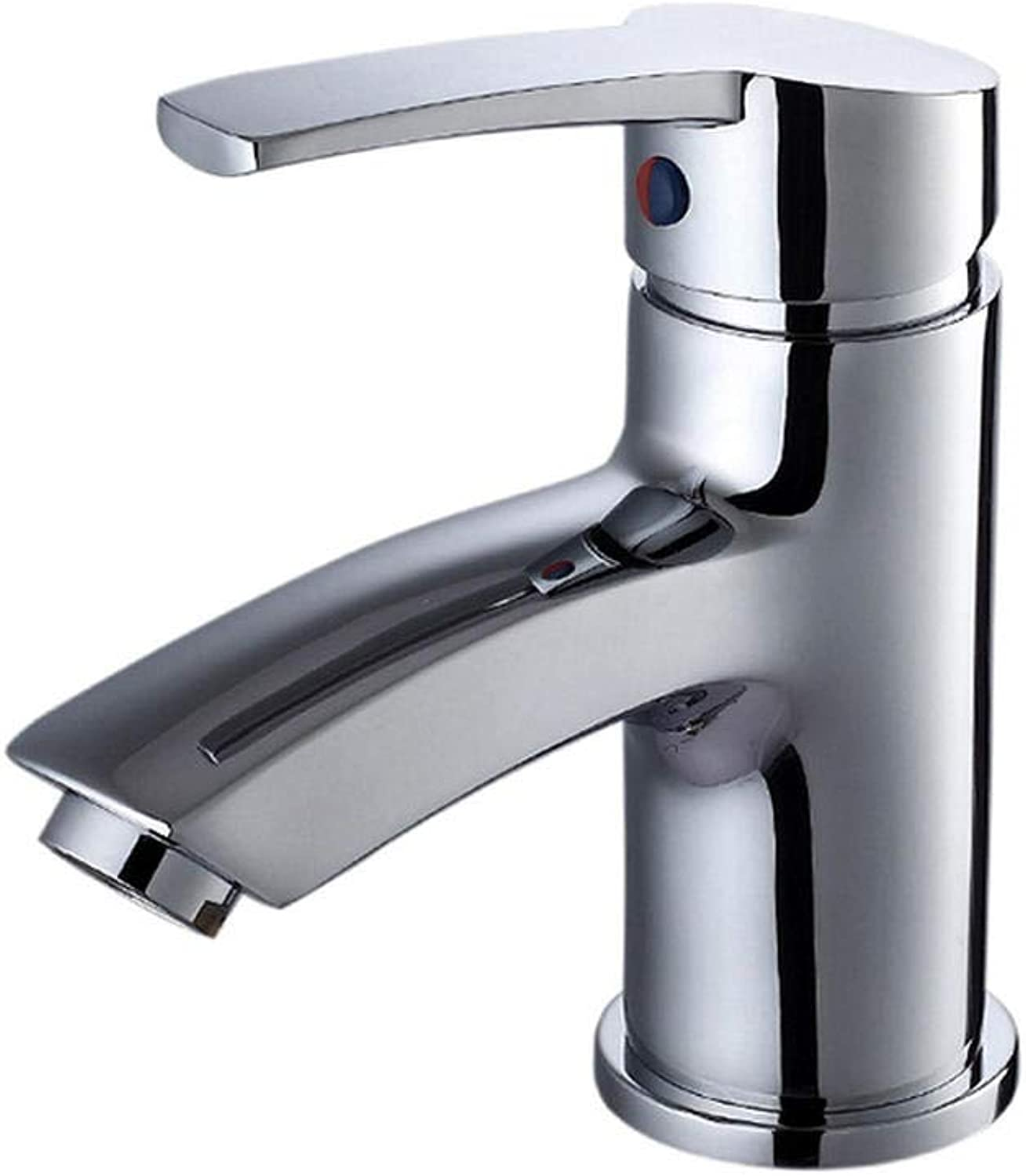 Copper face Basin Faucet Hold washbasin Cold and hot Faucet