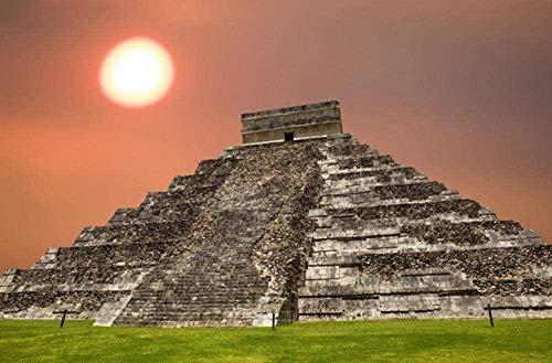 XZJXGZ 1000 Pieces puzzel volwassen Decompression Maya-piramide 70x50cm puzzel Kinderen Educatief speelgoed DIY huisdecoratie