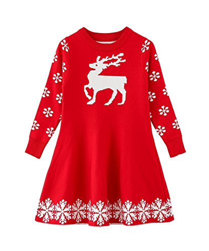 SMILING PINKER Little Girls Christmas Dress
