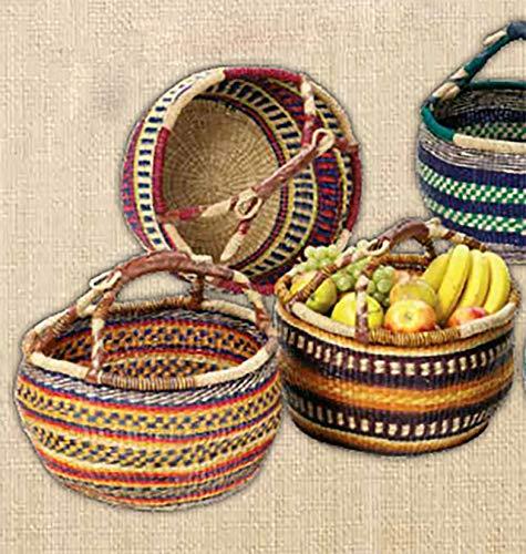 Unbekannt Seegrastasche 'Afrika', Einkaufskorb, Korbtasche, Strohtasche, Einkaufstasche, Korb