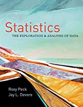 Statistics: The Exploration & Analysis of Data (Available Titles Aplia) by Peck, Roxy Published by Brooks / Cole 7th (seventh) edition (2011) Hardcover