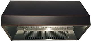 Z Line 8685B-30 1200 CFM Under Cabinet Range Hood with Black Finish, 30