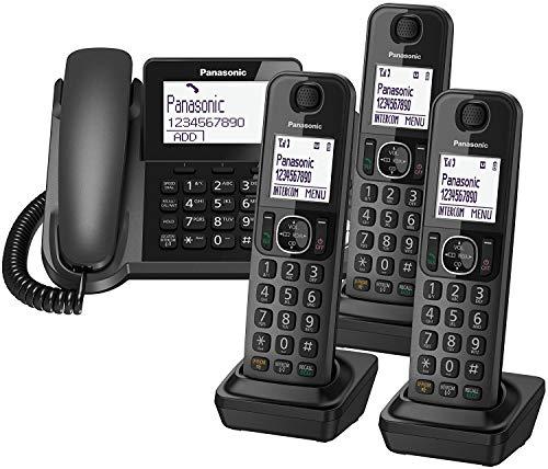 Panasonic KX-TGF32 Cordless Phone (Main + 3 Handsets)