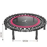DHF Liegestuhlkissen Trampolin Leise und sicher for Erwachsene Kinder, sichere Bewegung im Freien, Fitness-Trampolin Ohne Stuhl