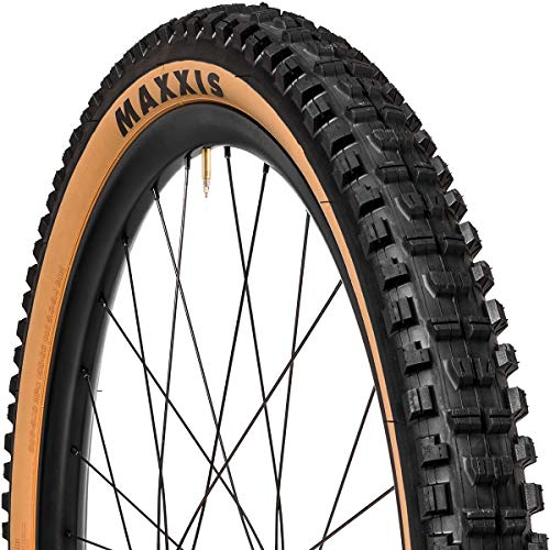 Maxxis Unisex– Adult's Skinwall Dual EXO Bicycle Tyres, Black, 27.5x2.40 61-584