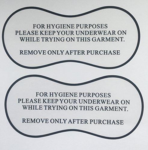 100 Adhesivos Protectores Higiene Probarse Bañadores