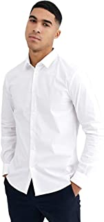 MANQ Men's Slim Fit Formal Shirt