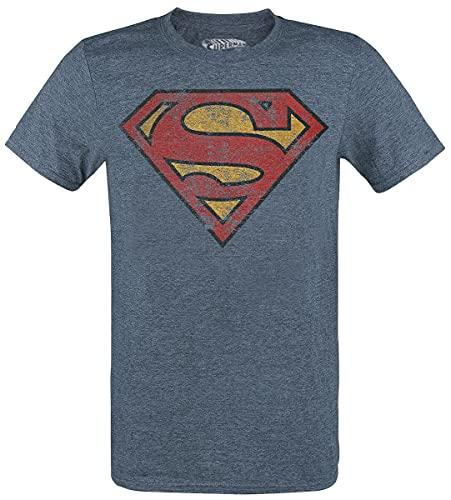 Superman T-Shirt Camiseta, Mezcla DE...