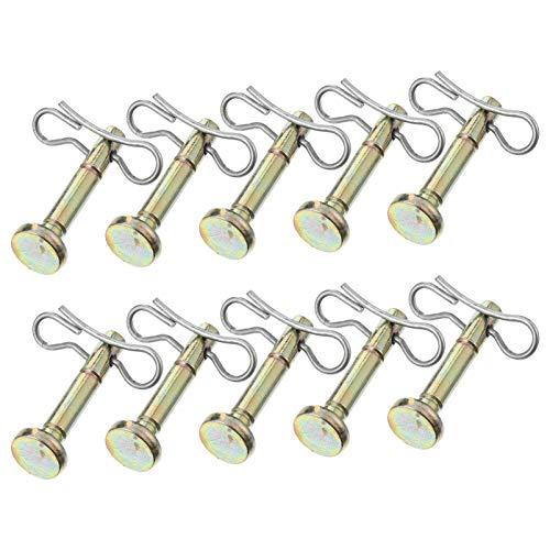 Cabilock Juego de 20 pasadores de tijera para quitanieves 738-04124 714-04040