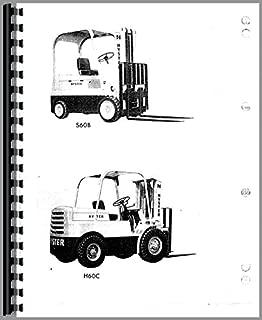 Misc. Tractors Hyster H60C H70C H80C Forklift (+opt) Parts Manual