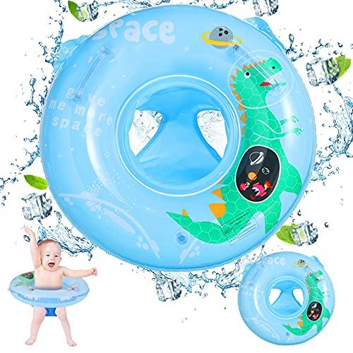 Schwimmring Baby, Schwimmsitz Kinder, Schwimmhilfe mit Schwimmsitz PVC - für Kleinkind Schwimmreifen Spielzeug 6 Monate bis 3 Jahre