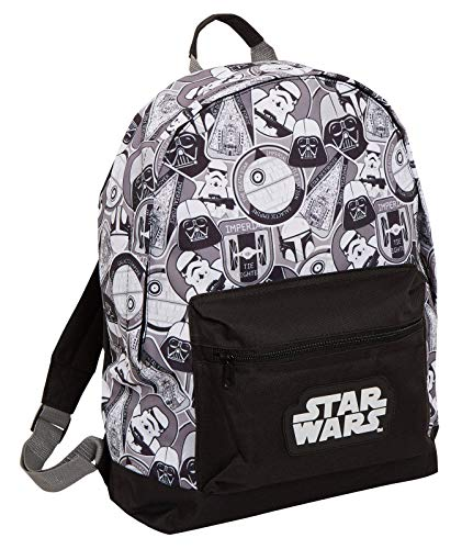 Star Wars Mochila grande Darth Vader Storm Trooper Escuela Universitaria para portátil