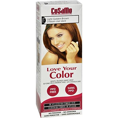 Cosamo 776 Light Golden Brown - 1 Count